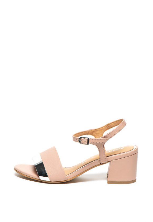 Sandale de piele cu toc masiv Ericeira-sandale-Gioseppo