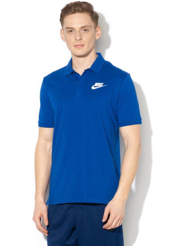 Tricou polo cu broderie logo-tricouri-Nike