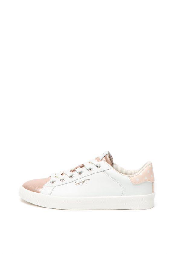 Pantofi sport cu detalii metalizate Kioto Dotty-tenisi-Pepe Jeans London