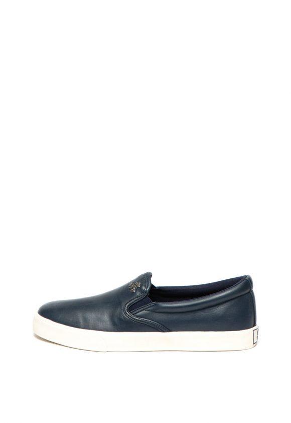 Polo Ralph Lauren - Pantofi slip-on de piele si material textil Camilo-pantofi clasici-Lauren Ralph Lauren