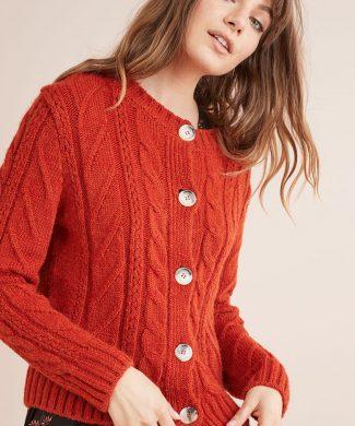 Cardigan cu detalii cu torsade-tricotaje-NEXT