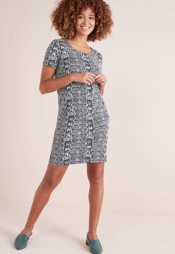Rochie cu model animal print-rochii-NEXT