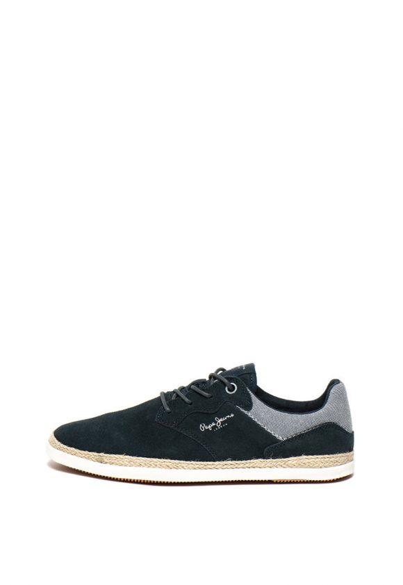 Pantofi de piele intoarsa Maui Ker-pantofi clasici-Pepe Jeans London