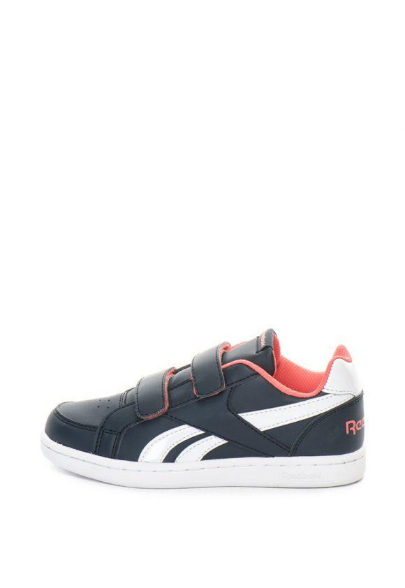 Pantofi sport de piele ecologica cu velcro Royal Prime-pantofi clasici-Reebok Classics