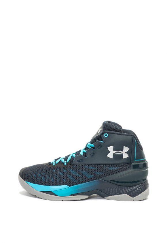 Pantofi de piele si material textil - pentru baschet Longshot-pantofi clasici-Under Armour