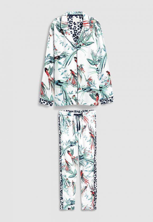 Pijama cu imprimeu-pijamale si halate de baie-NEXT