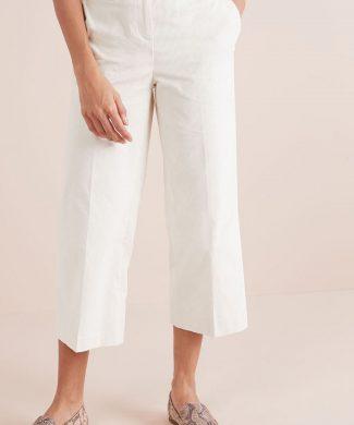 Pantaloni culotte din reiat-pantaloni si colanti-NEXT