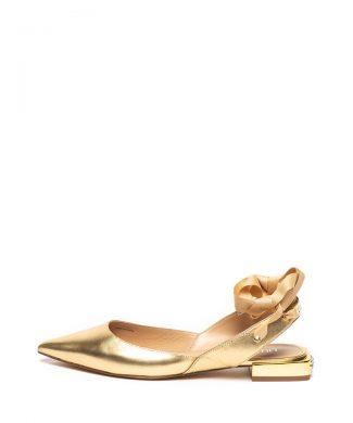 Pantofi slingback de piele Viky-Balerini-Liu Jo