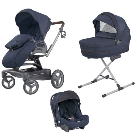 Carucior 3 in 1 Inglesina Quad Quattro Oxford Blue