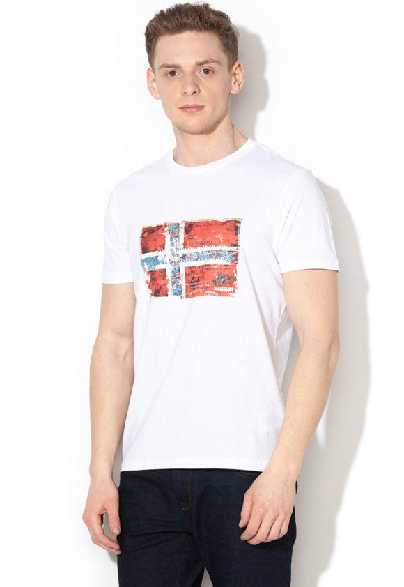 Tricou cu imprimeu grafic Seitem-tricouri-Napapijri