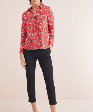 Camasa regular fit cu model floral-camasi-NEXT