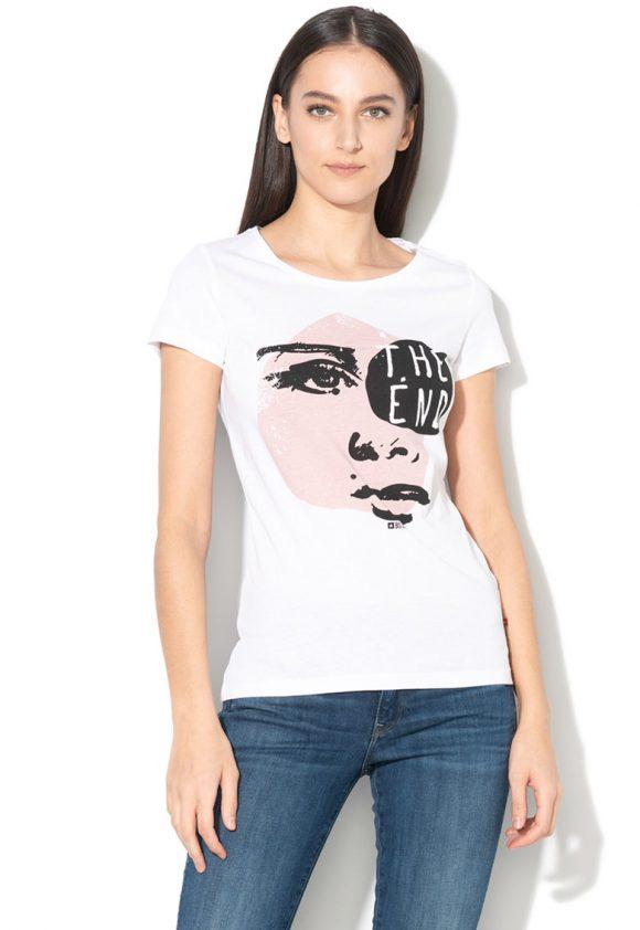 Tricou cu imprimeu grafic Arielle-tricouri-BIG STAR