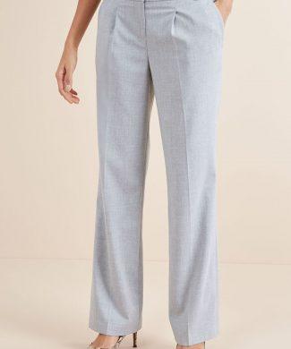 Pantaloni cu croiala ampla si pliuri inversate-pantaloni si colanti-NEXT
