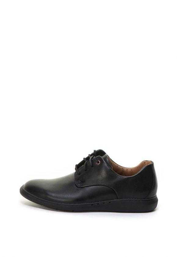 Pantofi casual de piele Un Voyage Plain-pantofi clasici-Clarks