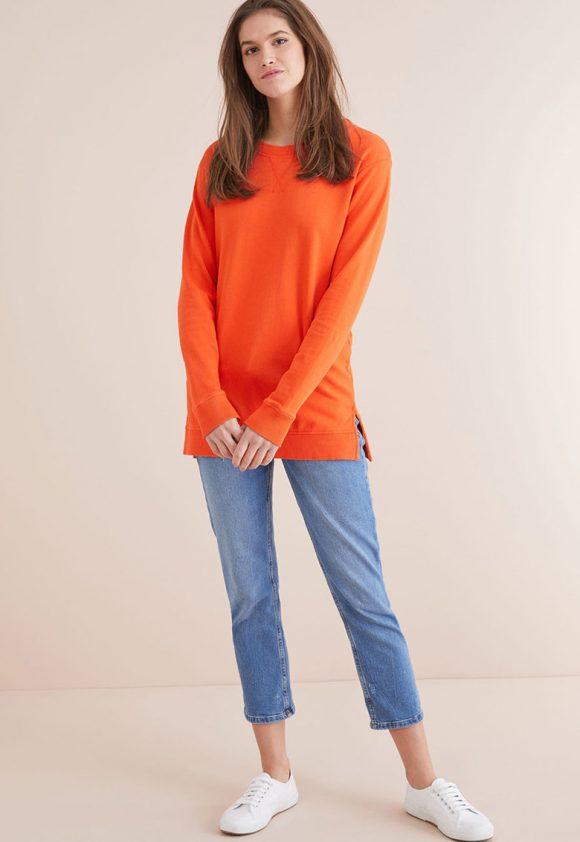 Bluza sport cu terminatie asimetrica-bluze-NEXT