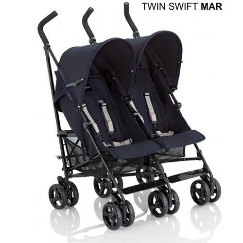 Inglesina - Carucior Twin Swift Marina
