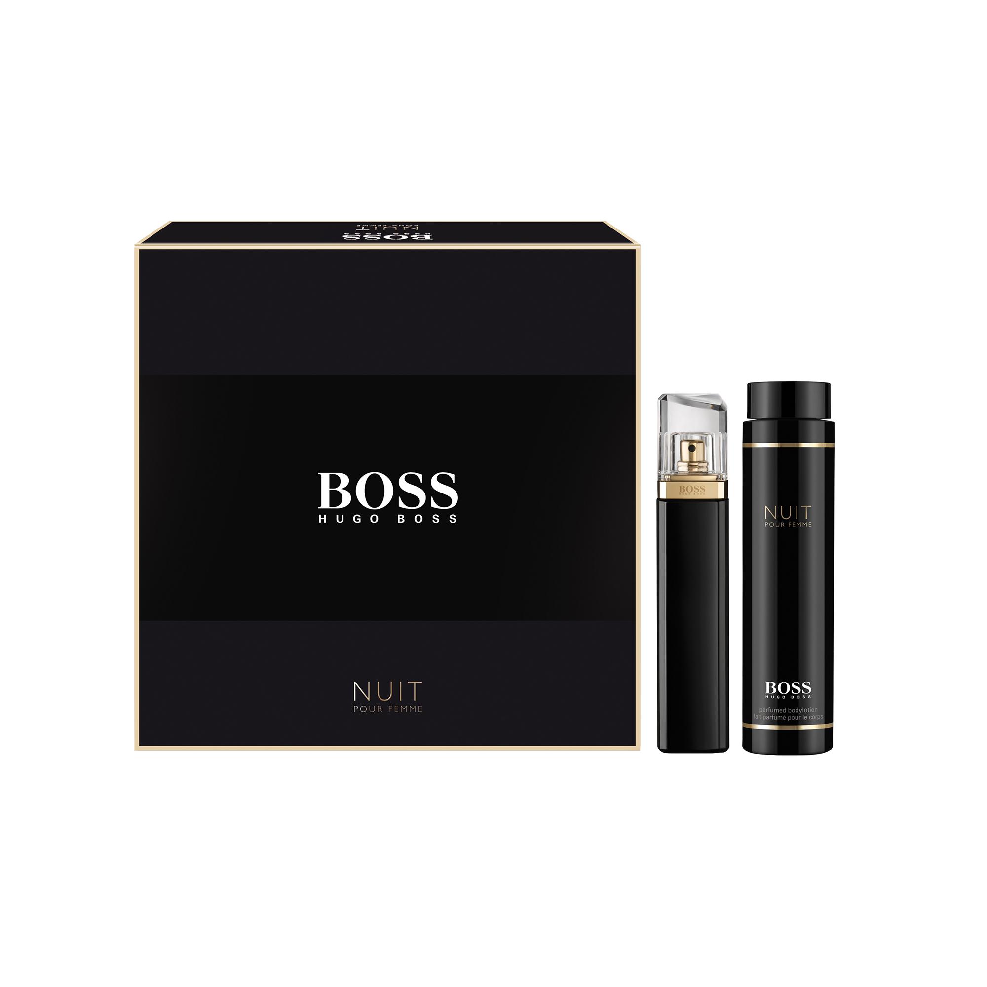 Set Hugo Boss Nuit femei: apa de parfum