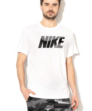 Tricou cu imprimeu logo pentru antrenament Dri Fit-tricouri-Nike