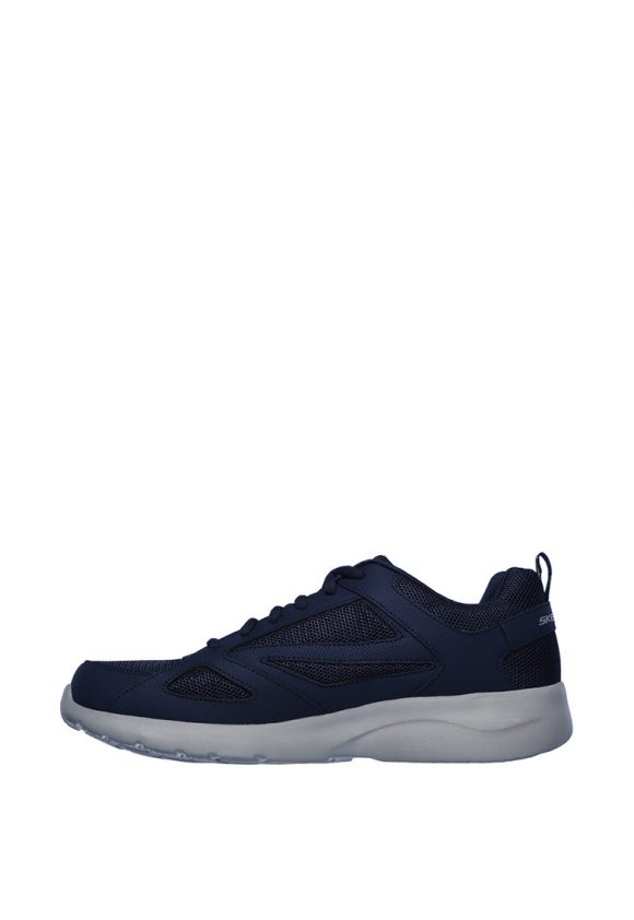 Pantofi sport cu garnituri de piele Dynamight 2.0 - Fallford-tenisi-Skechers