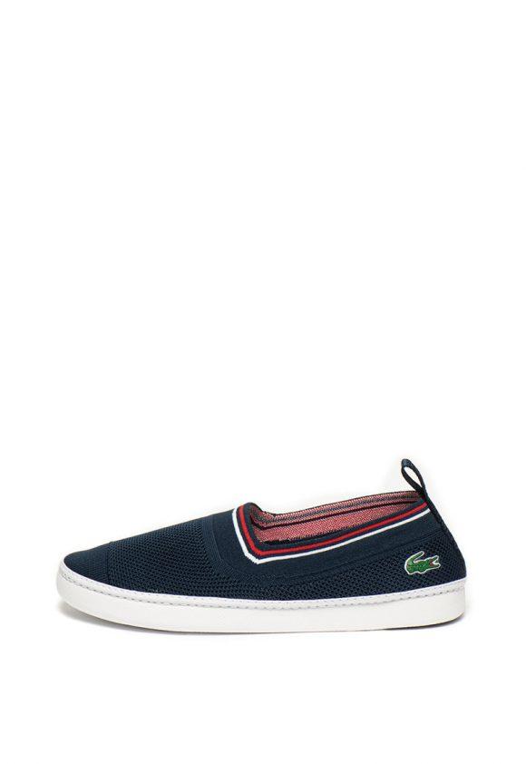 Pantofi slip on de plasa cu aspect tricotat Lydro-tenisi-Lacoste